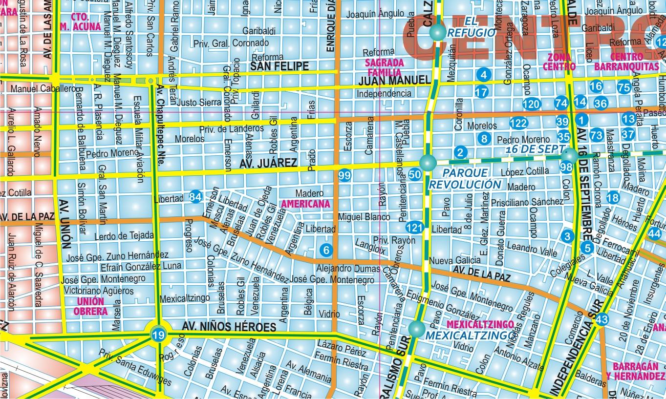 Ciudad de guadalajara mural mapas independencia for El mural guadalajara jalisco