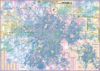 Ciudad de Puebla 90x125 cm